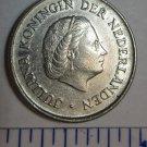 1972 JULIANA KONINGIN NEDERLANDEN 25 CENT COIN