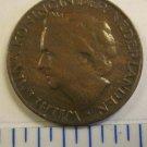 Netherlands One 1 Cent 1948 Juliana Koningin Der Nederlanden