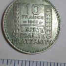 1948 REPUBLIQUE FRANCAOSE 10 FRANCS