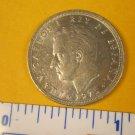 1975 Spain Five Ptas Coin - Juan Carlos I Rey De Espana - 5 Centimo