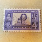 STAMP AMERICAN WOMAN 8 CENT SCOTT #1152 1960