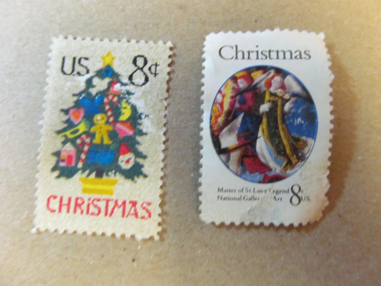 Stamp CHRISTMAS 8 CENT
