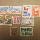 Canada Stamps Lot of 10 assorted