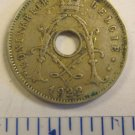 Belgium 5 centimes Coin 1922 19 mm
