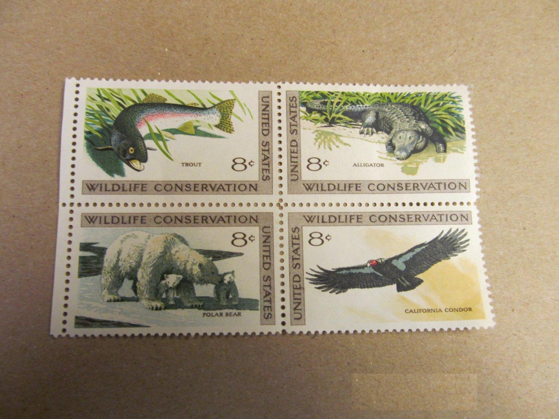 1971 8 Cent Wildlife Conservation U.S. Stamp 4 Unused #2