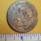 5 centesimi 1861 Victor Emanuell II RE D'ITALIA