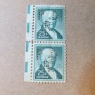 2 UNUSED  $0.25 Stamp PERFORATED PAUL REVERE