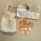 1973 PDS souvenir Mint Visit Penny Bag 5P 5D 5S US Mint 15 Coins Total Lot 3