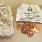 1973 PDS souvenir Mint Visit Penny Bag 5P 5D 5S US Mint 15 Coins Total Lot 6