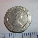 UK Great Britain 20 Pence 1984  Collectible Coin