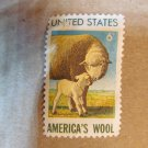 America's Wool Lamb 43 Year Old Vintage US Postage Stamp 1971