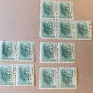 ANDREW JACKSON STAMP 1963 UNUSED 1 Cent US POSTAGE GREEN Perforated 13 pieces