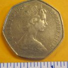 Great Britain 50 New Pence, 1969 Coin ELIZABETH ll