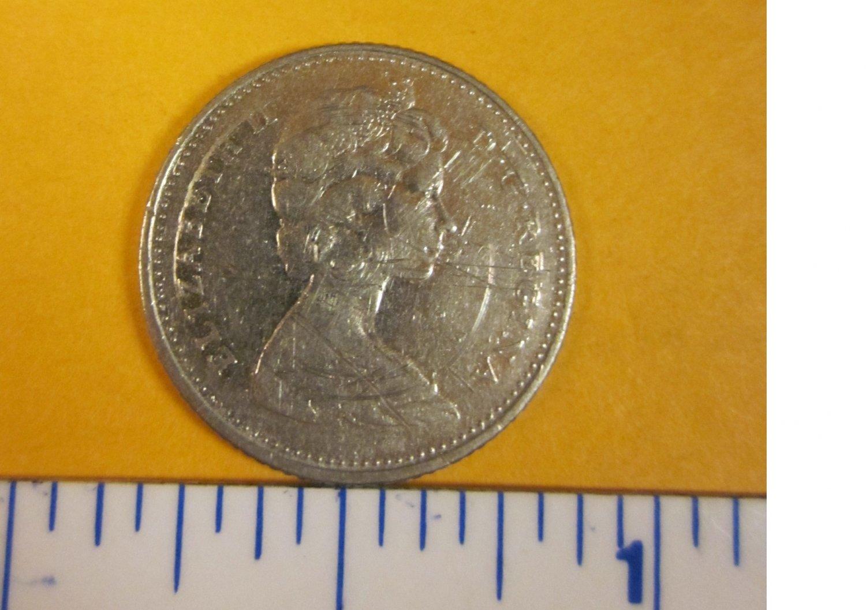 Canada 1968 10 cents ELIZABETH II D.G. REGINA