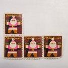 1979 15 Cent SANTA CLAUS CHRISTMAS STAMP 4 PIECES SCOTT 1800