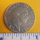 50 Centesimi 1941 Italy World Coin Magnetic Rome Eagle Italia Europe