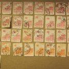 Stamp LOT OF STAMPS FROM CHINA 42 PIECES CANCELED