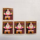 US Stamp SANTA ORNAMENT 3 PIECES 15 CENT 1979 SCOTT 1800