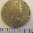 1976 5 cents FIGI ELIZABETH II DEI GRACIA REGINA