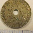 Belgium 25 centimes Coin 1923