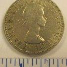 Elizabeth II Del Gratia Regina 1958 1 shilling