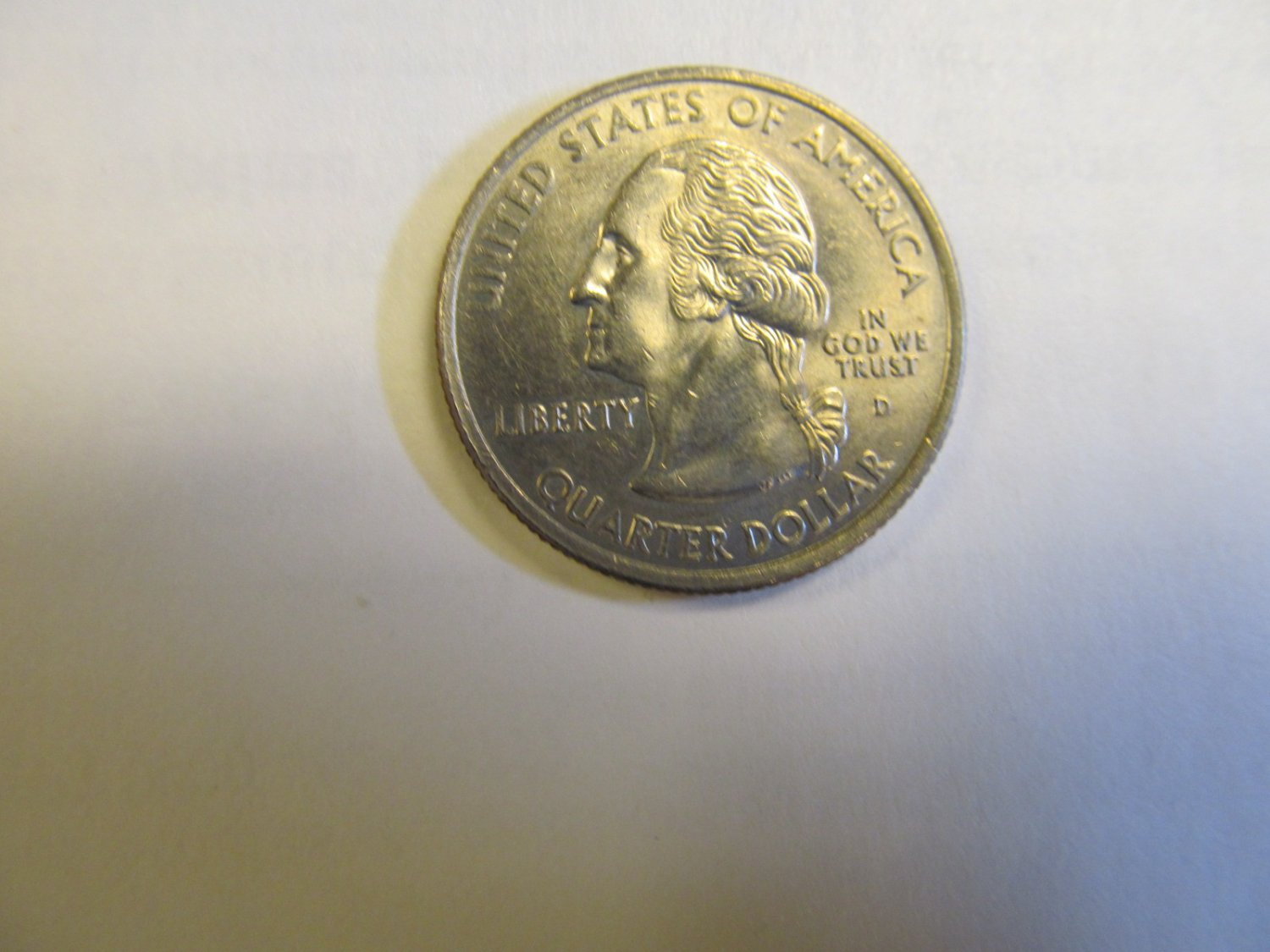UNITED STATES STATE QUARTER 2000 D MASSACHUSETTS CIRCULATED  LOT 51