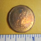 Canada 1984 1 Cent Copper One Canadian Penny ELIZABETH II DEI GRACIA REGINA