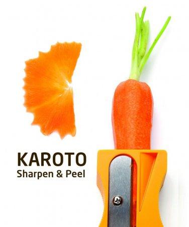 Monkey Business Design Studio Karoto - Sharpener & peeler Funky Gifts Home Office Kitchen Free Ship