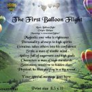 HOT AIR BALLOONS #2 - PERSONALIZED 1 Name Meaning Print  - no US s/h fee