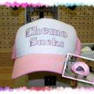 Ball Cap, Breast Cancer Awareness. CHEMO SUCKS