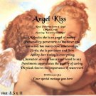 ANGEL KISS #1 - PERSONALIZED 1 OR 2 Name Meaning Print  - no US s/h fee