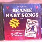 BEANIE BABIES SONGS - Unofficial - OOPS Sealed CD