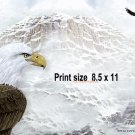 EAGLE MOUNTAIN - PERSONALIZED 1 Name Meaning Print  - no US s/h fee