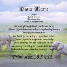ELEPHANTS #2 - PERSONALIZED 1 Name Meaning Print  - no US s/h fee