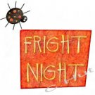 Dad's FRIGHT NIGHT, spider Halloween ~ (yth xSm to Adult xLarge) - T-shirt