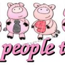 T-shirt,  PIGS are PEOPLE TOO! ~  (Adult 2xLarge to Adult 6xLarge)