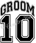 GROOM 14 - 2014 ~ (yth xSm to Adult xLarge) WEDDING, marriage
