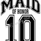 MAID OF HONOR 14 - 2014  ~ (Adult 2xLarge to Adult 6xLarge) ~ WEDDING, marriage