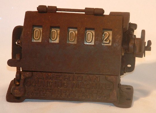 Antique America Counting Machine in working condition