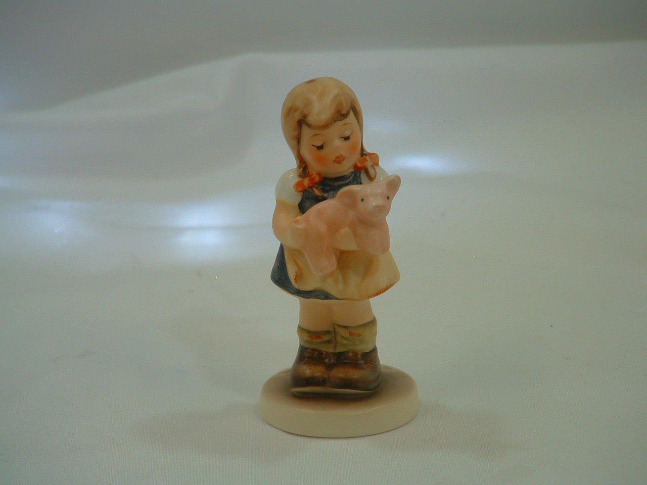 Hummel Goebel Germany Pigtails Figurine in Box