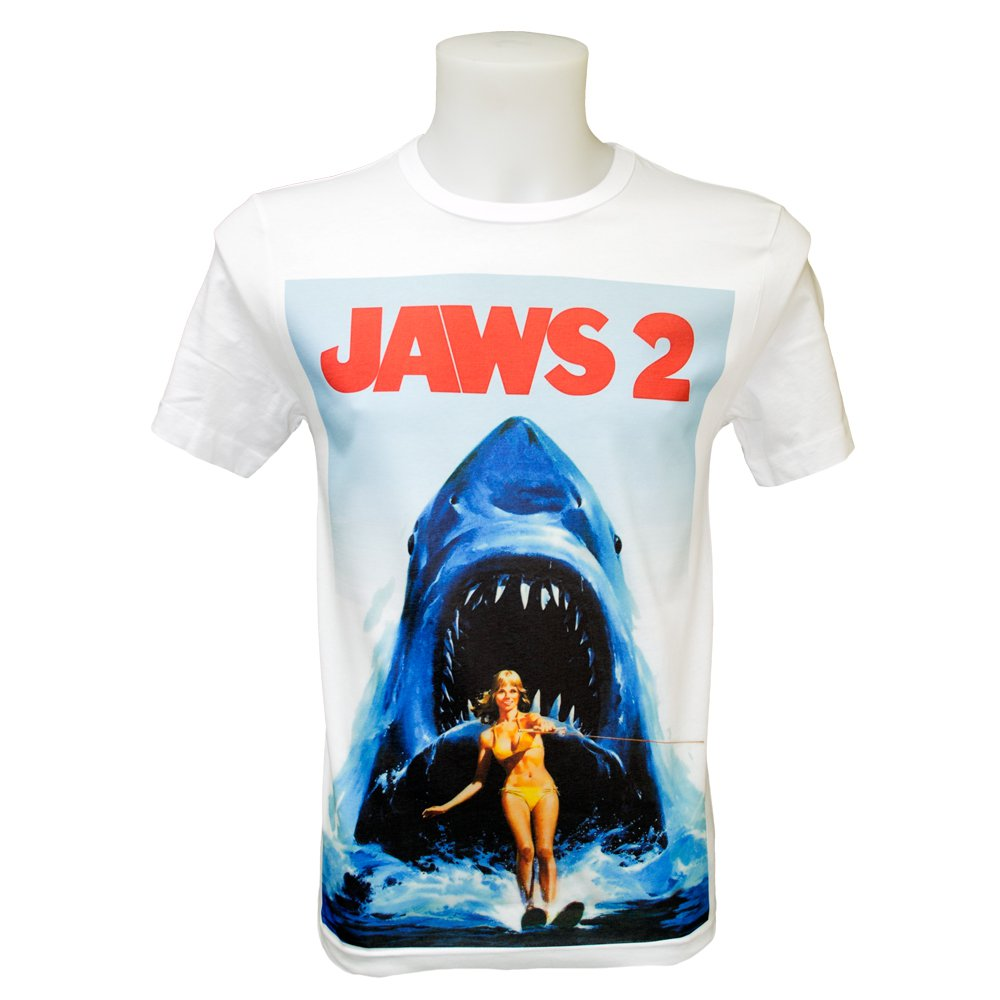 Jaws 2 Movie Poster (S-3XL) Retro Movie Classic Orca Quinns Fishing