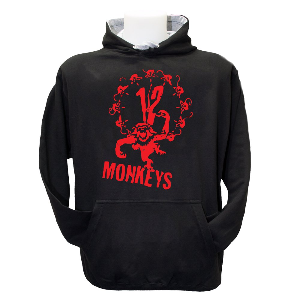 Army Of The 12 Monkeys Hoode (S-3XL) Hooded Top