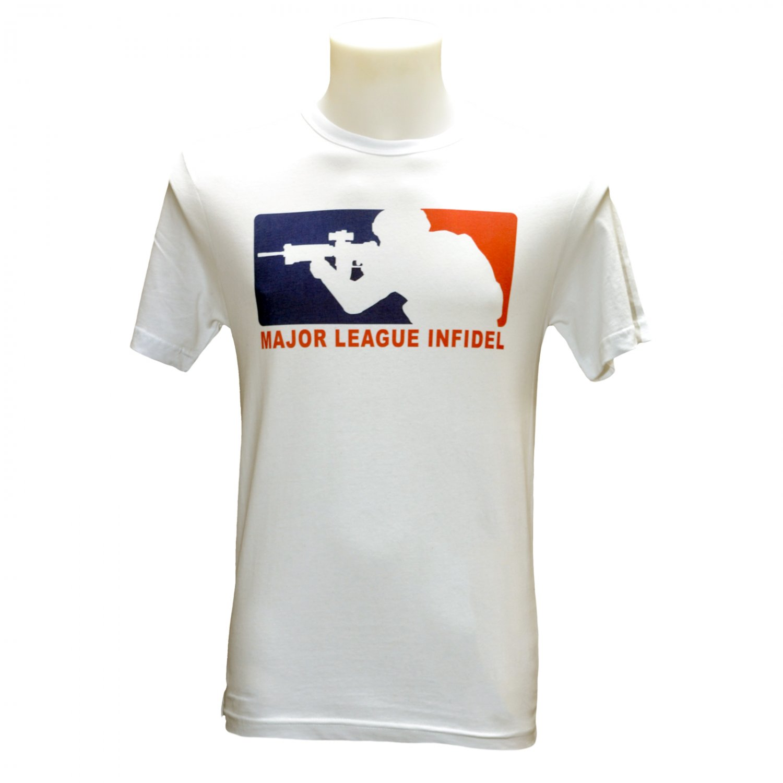 Major League Infidel T Shirt (S-3XL)
