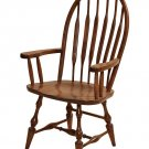 SET 2-Amish Windsor Dining Chairs Wooden Wood Kitchen Country Cottage Spindle