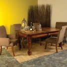 Amish Rustic Dining Room Table Set Chairs Formal Casual Solid Wood Furniture