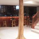Authentic Rustic Cedar Log Basement Pole Covers Support Post Wrap