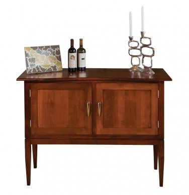 Amish Dining Room Server Buffet Sideboard Solid Wood Furniture Shelf New