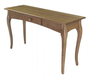 French Country Occastional Table Set Cottage Solid Oak Wood Furniture Coffee End