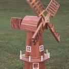 Amish Solid Cedar Windmill Outdoor Garden Yard Decor