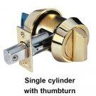 Mul T Lock Interactive+ dead bolt Hercular Single Side +Thumbturn 3 keys + card